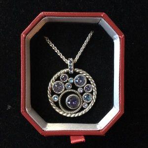 New! Brighton Halo Necklace, Adjustable
